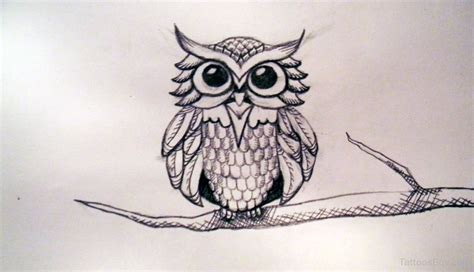 simple owl tattoo design owl tattoos designs pictures page 34