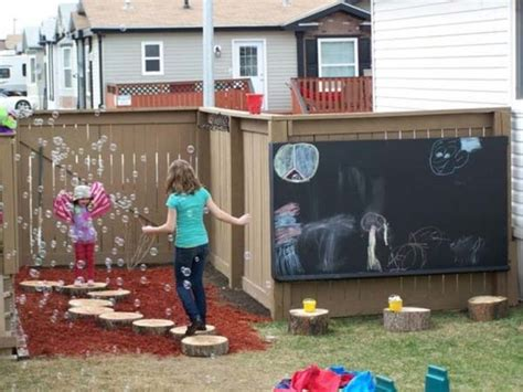 diy backyard play area 25 playful diy backyard projects to surprise your kids
