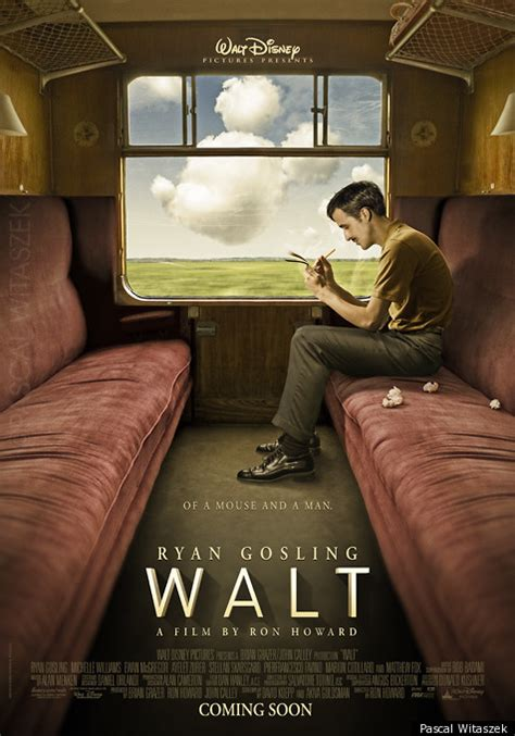 Biography Movie Walt Disney | ryan gosling in walt the fake walt disney biopic poster
