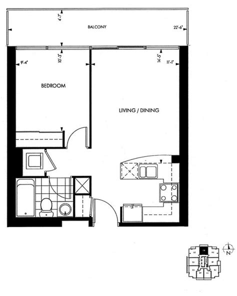 toronto condo floor plans 18 yorkville avenue annex toronto condominiums 1 bedroom