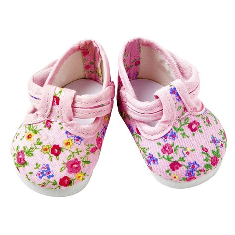 pink flower shoes pink flower dolly doodle shoes