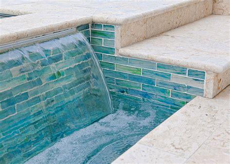 pool tile designs pool tile ideas shellstone pool deck marble tile pools