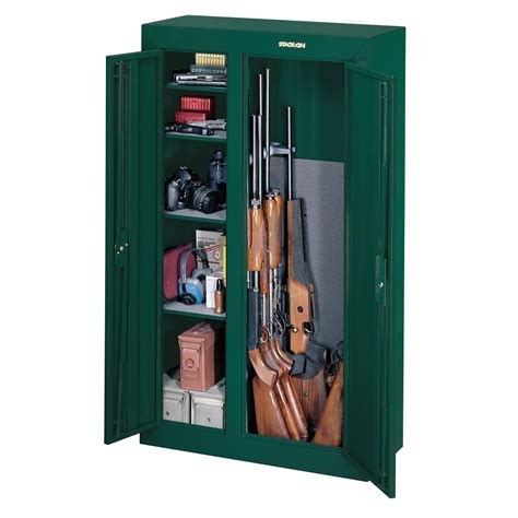 stack on 22 gun cabinet stack on 10 gun double door security cabinet hunter