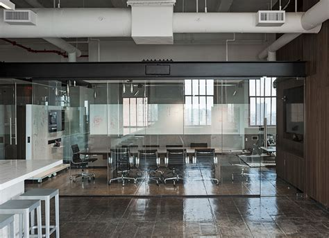 Media Kitchen Nyc Office Fiftythree S New York Office Features Transparent Spaces