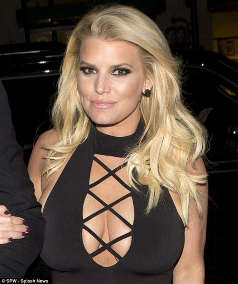celeb xray tumblr jessica simpson braless on a date with husband eric