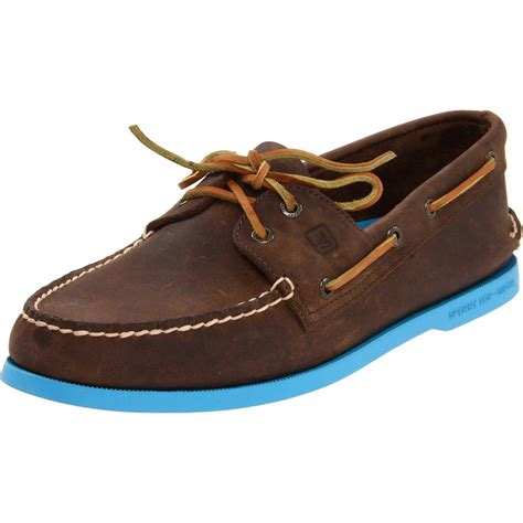 mens sperry sneakers sperry top sider sperry topsider mens ao 2 eye boat shoe