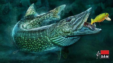 wallpaper 3d 1080 x 1920 1920x1080 fishing fish predatory fish vobler viper dam