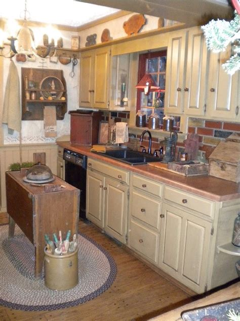 Primitive Kitchen Designs by 138 Best Primitive Country Kitchens Images On Pinterest