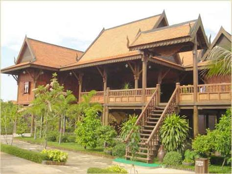 home design company in cambodia khmer house in classic styles