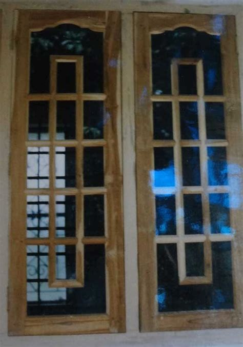 designer windows latest kerala model wooden window door designs wood design ideas