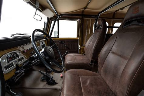 classic land cruiser interior the fj company gives the classic land cruiser a new lease