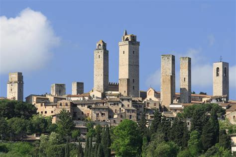 s geminiano the tuscan jewels siena monteriggioni s gimignano and pisa