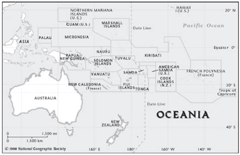 oceania map with country names 15 may 2014 monarch high school ap human geography