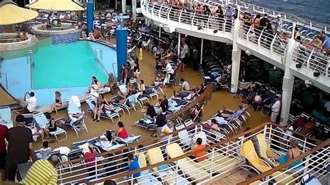 what is a lido deck royal caribbean voyager of the seas lido deck with