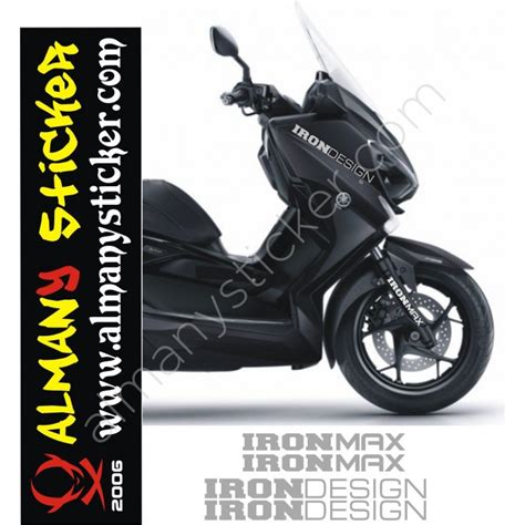 yamaha ironmaxiron design sticker set