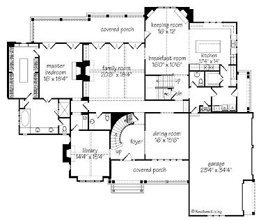 southern living floor plans southern living glendale floor plan for the home