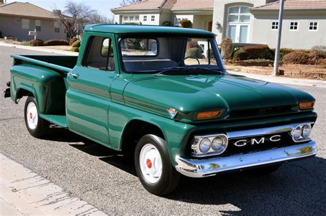 1965 gmc c1000 stepside rods and