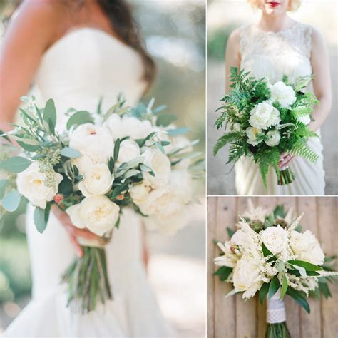 White Wedding Bouquet Flowers by Top 10 Stunning White And Green Bouquets Fiftyflowers