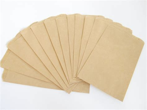 Craft Paper Bag - paper bags brown kraft gift bag 50pcs craft bag brown paper
