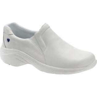 mates dove slip resistant white s nursing shoe