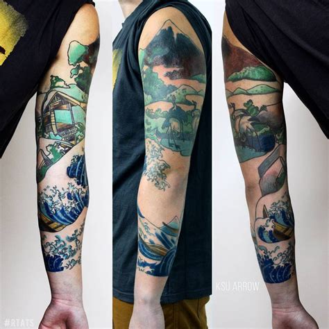traditional chinese tattoo traditional sleeve by kilariot on