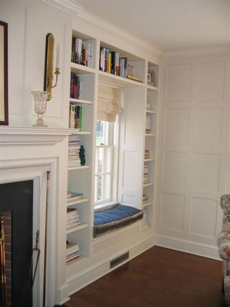 built in shelves around fireplace with windows 1000 images about bookcases windows on