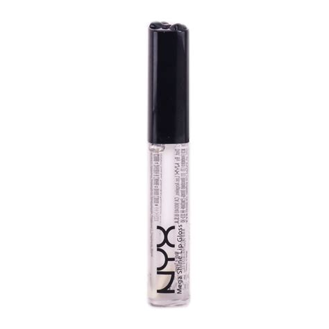 Nyx Mega Shine Lip Gloss No122 nyx lip gloss with mega shine clear lg 103