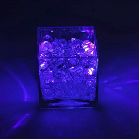 Light The Way 12pcs Purple Led Floralyte Vase Lights Purple Led Lights