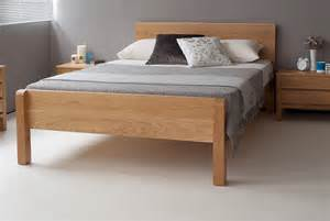 Wood Bed Frame Uk Tibet Solid Wood Bed Made Beds Bed Company