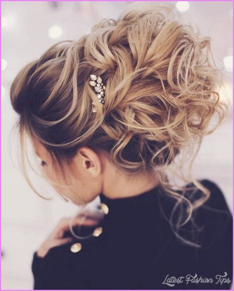 Elegant Hairstyles How To Do | wedding updo hairstyles latestfashiontips com