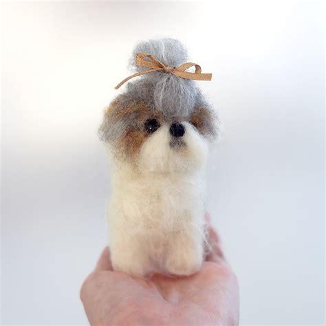 cachorros shih tzu miniatura shih tzu miniatura de cachorro felt lullaby elo7