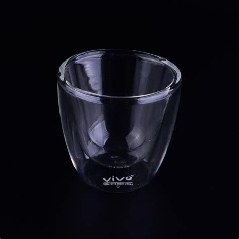 borosilicate glass borosilicate 95ml walled glass tea cup