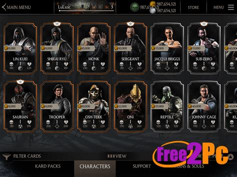 x apk mortal kombat x apk data version for android 2016
