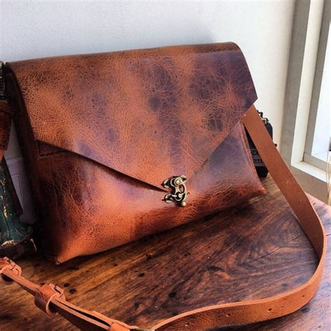 Handmade Leather Bags Nyc - handmade leather laptop backpack bridle leather convertible