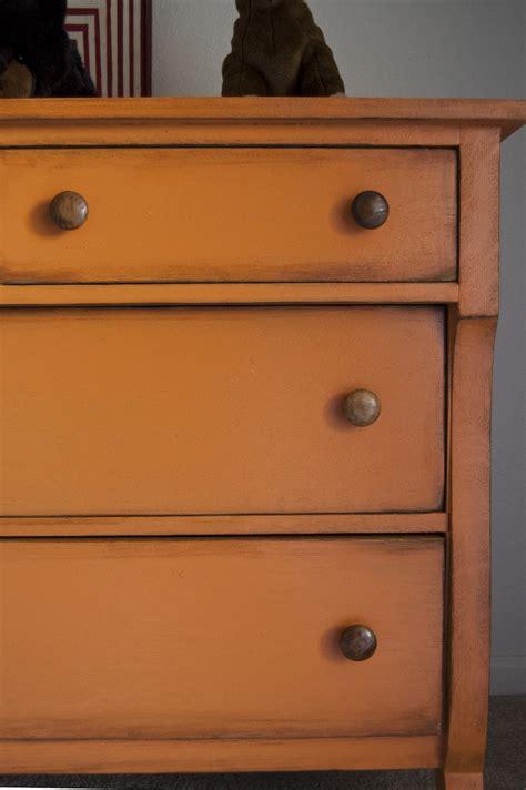 551 east rustic orange dresser