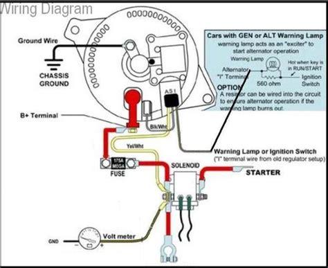 f150 alternator warning light wiring diagram repair