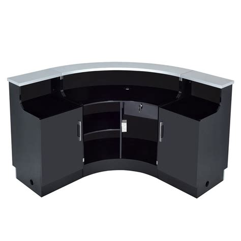 led lighting reception desk janus