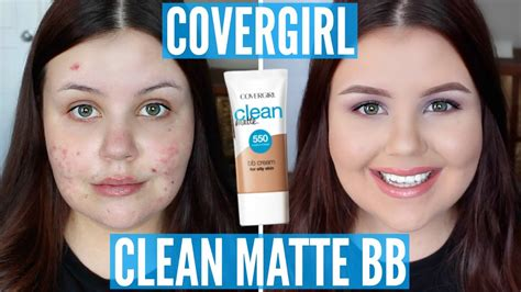 Covergirl Clean Matte Bb impressions covergirl clean matte bb acne