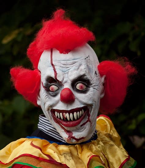 of a clown no laughing matter fear of clowns is serious issue by