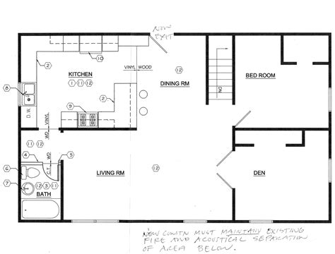 floor plan for kitchen floor plans this odd house