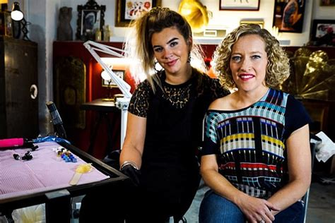 tattoo fixers north london channel 4 gets in security for cathy newman after abuse