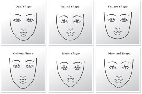 haircut match face shape best hair styles for your face shape 50 best hairstyles