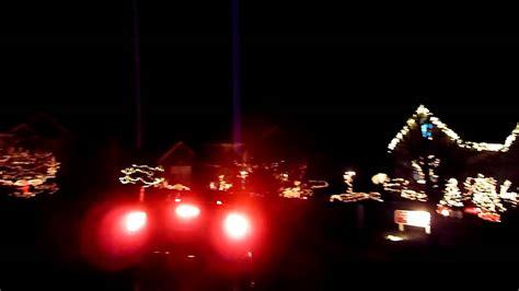holiday light show in medina oh youtube
