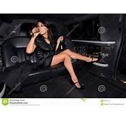 Donna Sexy Che Beve Champagne Immagini Stock Libere Da