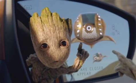 baby groot helps promote fords baby suv autoguidecom news