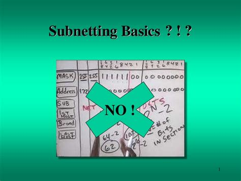 video tutorial de subnetting subnetting basics tutorial