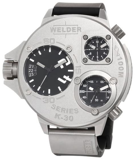Welder K 29 Silver White Rubber welder men s watches