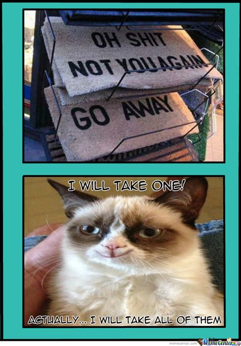 Grumpy Cat Meme Happy - grumpy cat is happy by akusminion meme center