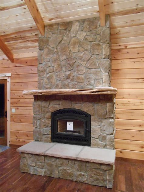 rock fireplace fireplace with rock wall interior design ideas