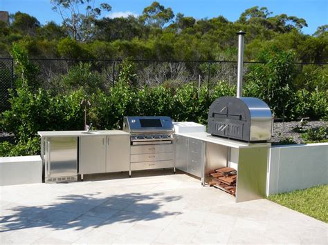 outdoor kitchen stainless doors and drawers outdoor kitchens